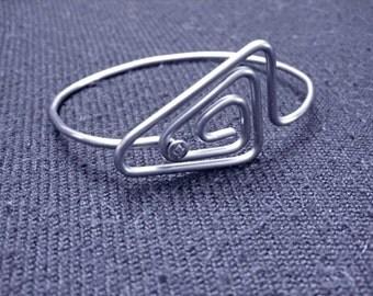 Triangle Bicycle Spoke Bracelet