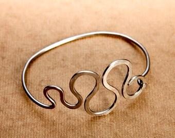 Curves Bicycle Spoke Bracelet