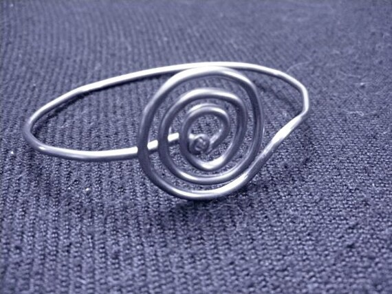 Spiral Bicycle Spoke Bracelet