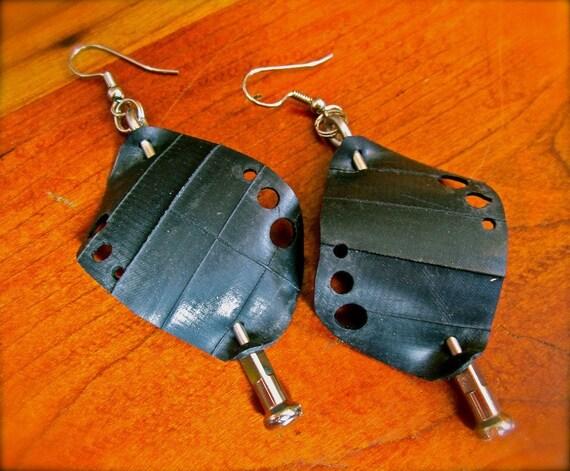 Re-Bicycled Earrings