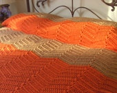 Vintage Crochet Bedspread/Blanket