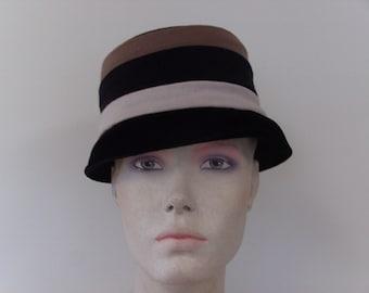 Classic Tri-Colored Wool Hat