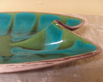 Vintage Mod Ceramic Dish