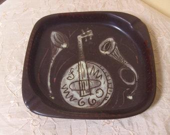 Vintage Jazzy Ash Tray