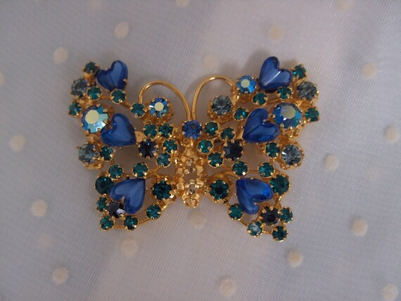 Blue Butterfly Pin