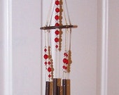 Metal Hummingbird Wind Chime SALE