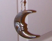 To The Moon Wind Chime Sun Catcher