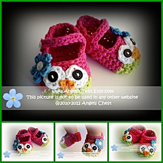 ANY 3 PDF Crochet Patterns Sale - Great tutorials lots of pictures - Mary Janes, hats, earflaps, Owl cozies, and more