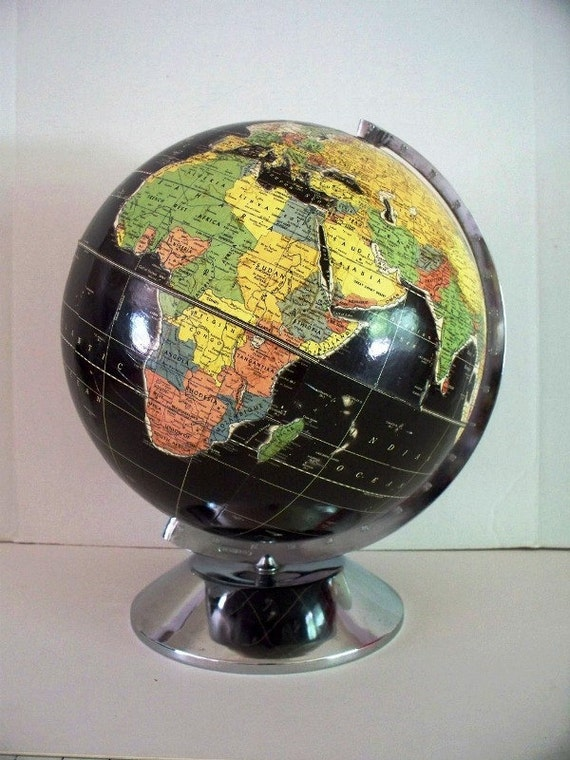 Starlight Black Oceans Globe
