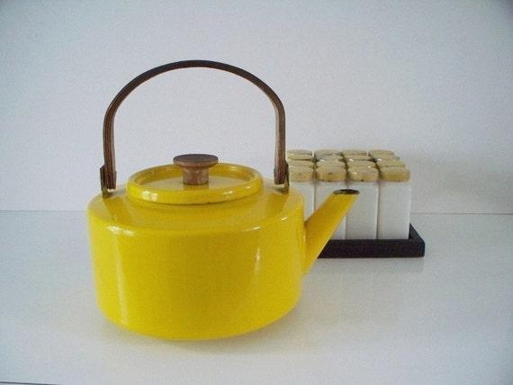 Decorative Enamel Teapot