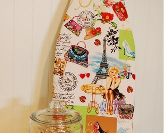 Tabletop Ironing Board Cover - April in Paris