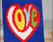 RETRO LOVE NEEDLE POINT