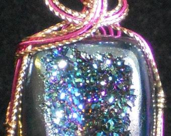 Sparkling Drusy Pendant