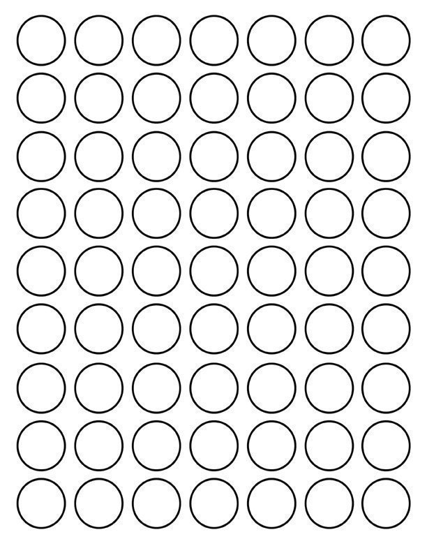 Inch Circle Template By using this template,