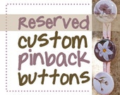 Reserved, custom buttons.