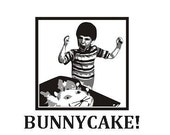 BUNNYCAKE greeting cards, variety of colors