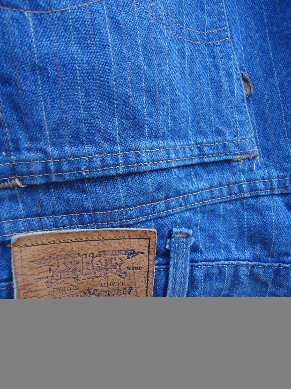 e24219f4 VintageTrafficUSA: vintage LEVIS Pinstripe JEANS 70s 80s blue ...