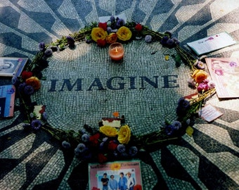 john lennon imagine, the beatles, strawberry fields, home decor, fine art photography, feng shui