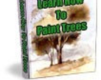 TREES and HOW to paint them in Watercolours - Digital PDF ebook