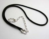16 inch satin neck cord with 4 inch extender