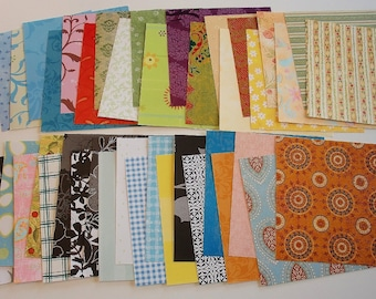 40 Sheets Nature Pack Of 6x6 Patterned Paper Hand Cut Many Themes