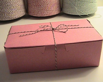 Pink Cake Boxes-Set of 100 Bakery Boxes