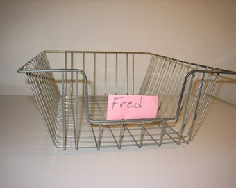 Vintage Wire Tray Basket