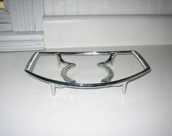 Vintage Corning Ware Metal Serving Stand- Dish-Tray