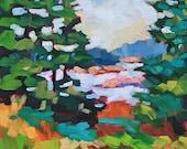 Maine Landscape 18 Original Oil Painting