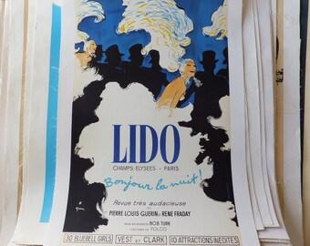 Vintage Lido Poster