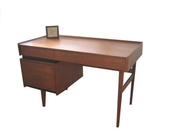 Mid-Century Dillingham Desk - Danish Modern
