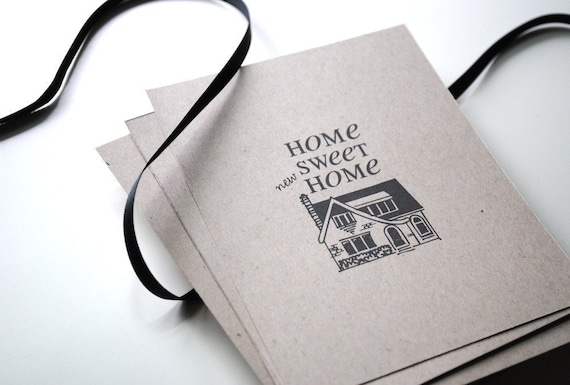 Home Sweet Home - Change of Address Postcards, Set of 40
