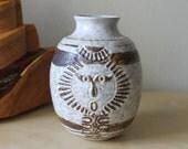 Mid Century Modern Studio Ceramic Vase