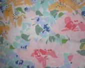 Vintage Linen, Full Flat Sheet ON SALE