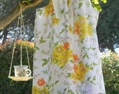 Vintage Pillowcase Dress Handmade, Sunshine