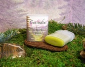 Cascadia Solid Scent - Essence of Mossy Evergreen Forests - Androgynous Perfume