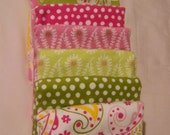 Flitter Flannel Strip Quilt  for Baby