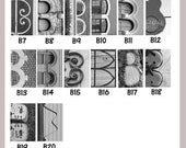Choose your letters Alphabet Photography 4x6 by Letter Pictures