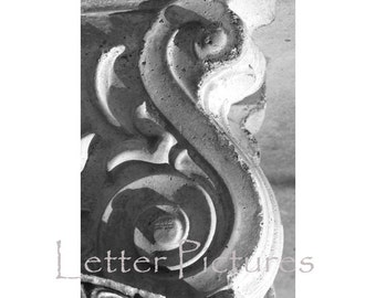 The Letter S Alphabet Photography Art  4x6 by Letter Pictures