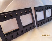 Blank Chipboard Filmstrip Shapes for Decorating-Photo Booth Props-Scrapbook Embellishments-Photo Frames-Black Photo Strips