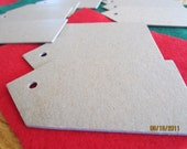 Christmas Blank Chipboard Tag Shapes for Decorating-Unfinished-Raw Chipboard-Alterable