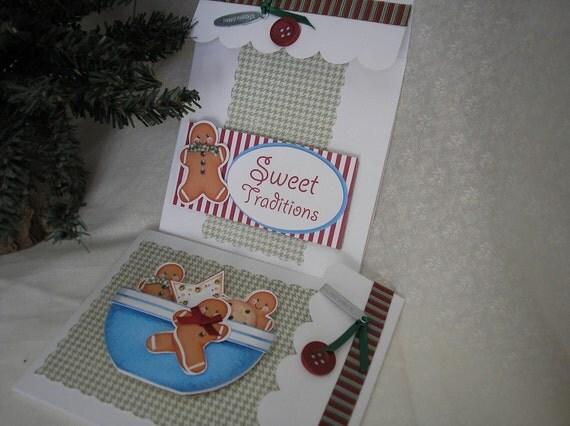 Sweet Treat Christmas Cards - Gingerbread Men Cookies