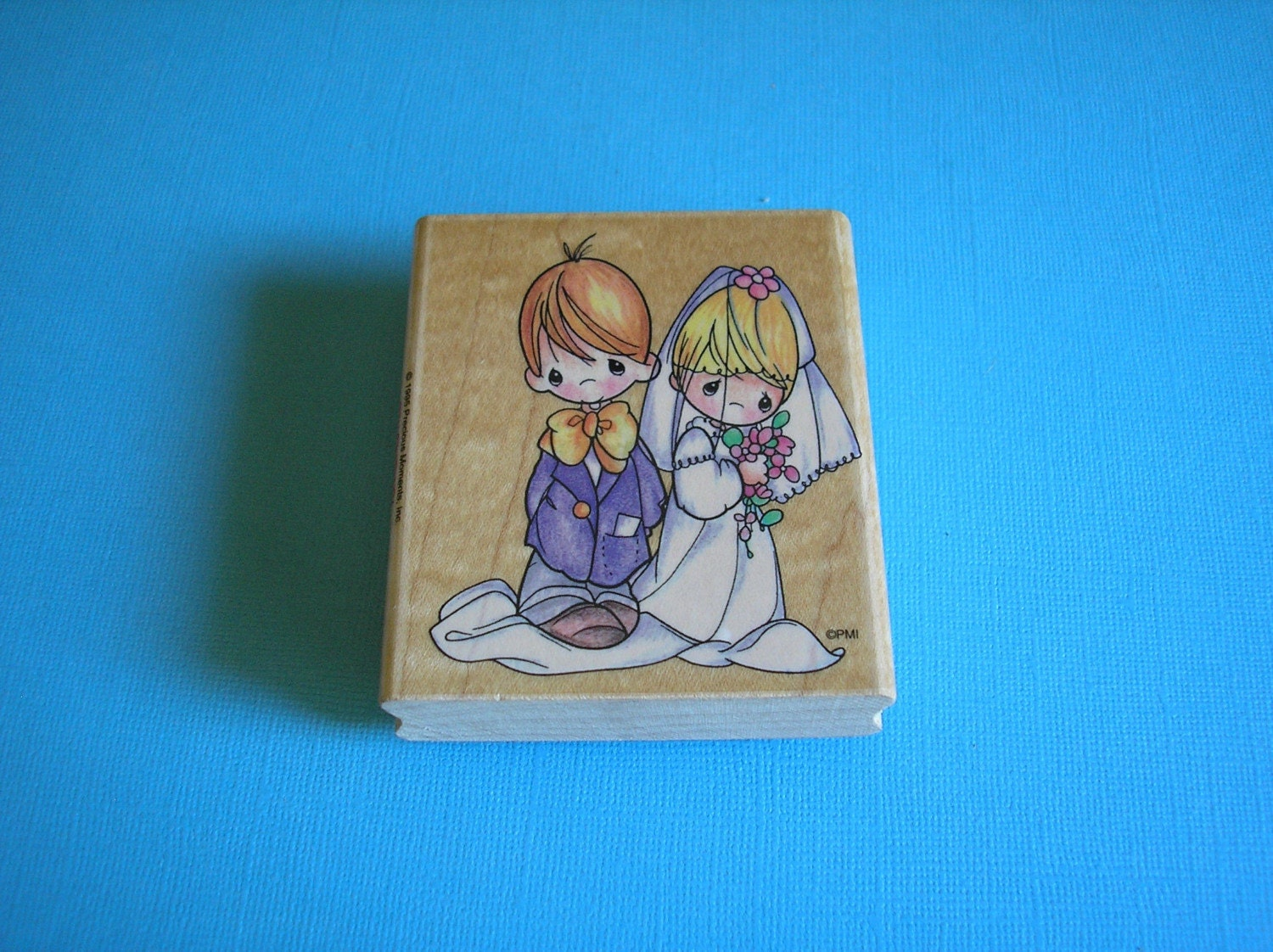 Precious moments wedding rubber stamp for Wedding dress rubber stamp