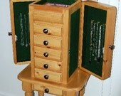 Six-Drawer Jewelry Box