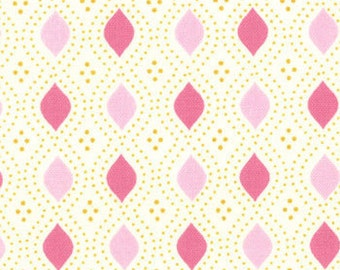 Moda's Domestic Bliss, diamond shapes (pink) 1 yard