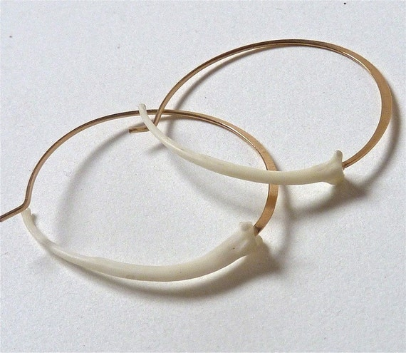 Small Snake Hoops
