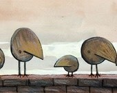 I'm with my big friends - cute birds