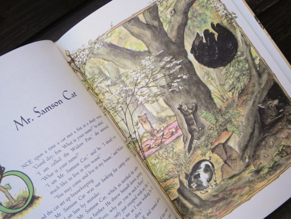 Tasha Tudor Book of Fairy Tales 1980 Printing
