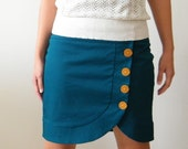 Turquoise skirt for the unique girl