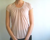 Tear drop top in powder pink Last one - size Small